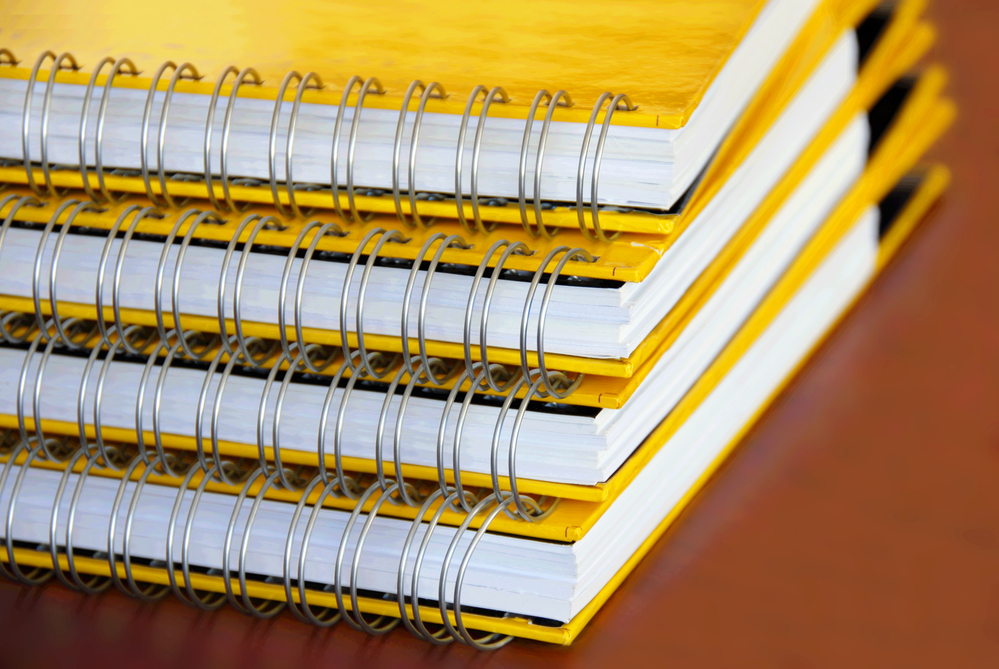 printed booklets binding formats