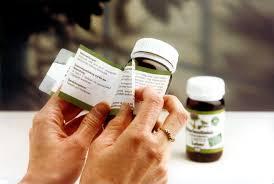 booklet style label on pharmaceutical bottle