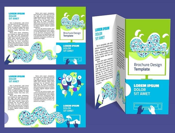 Z-fold brochure (3 panel)