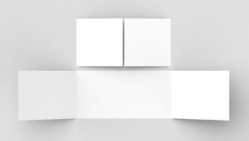 gate fold brochure (3 panel)