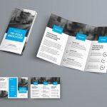 tri-fold brochure (3 panel)