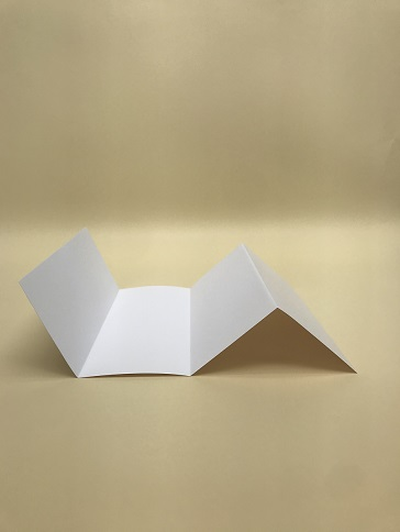 example of a double parallel fold brochure